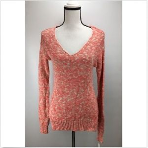 Abound V-Neck Knit Sweater Junior Size S Small